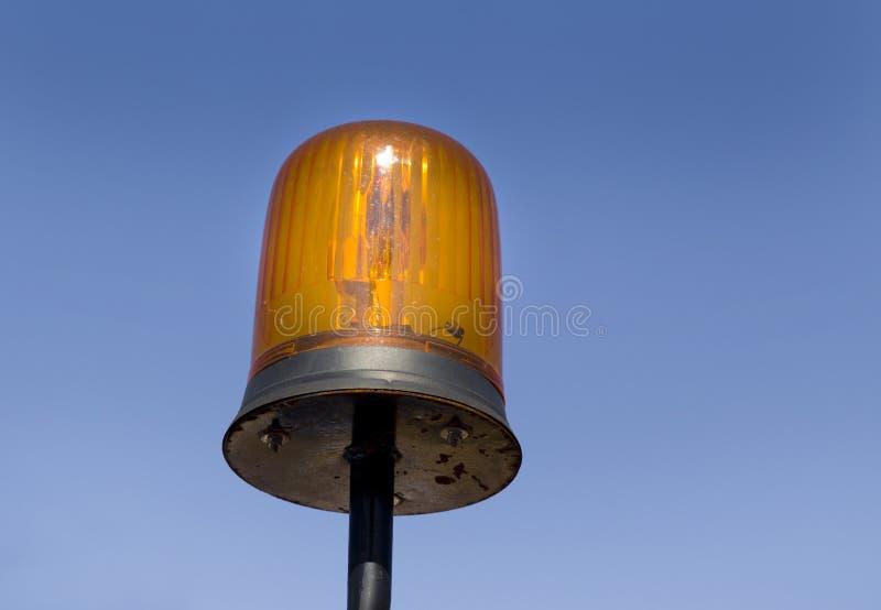 Luz de piscamento imagem de stock