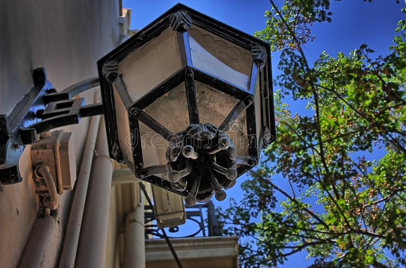 Luz de rua imagens de stock royalty free