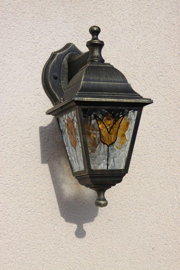 Luz de rua, costela de Orihuela, Espanha fotografia de stock