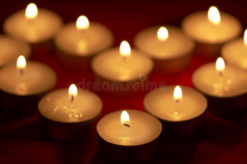 Download Luz de vela foto de stock. Imagem de degradado, romance - 531842