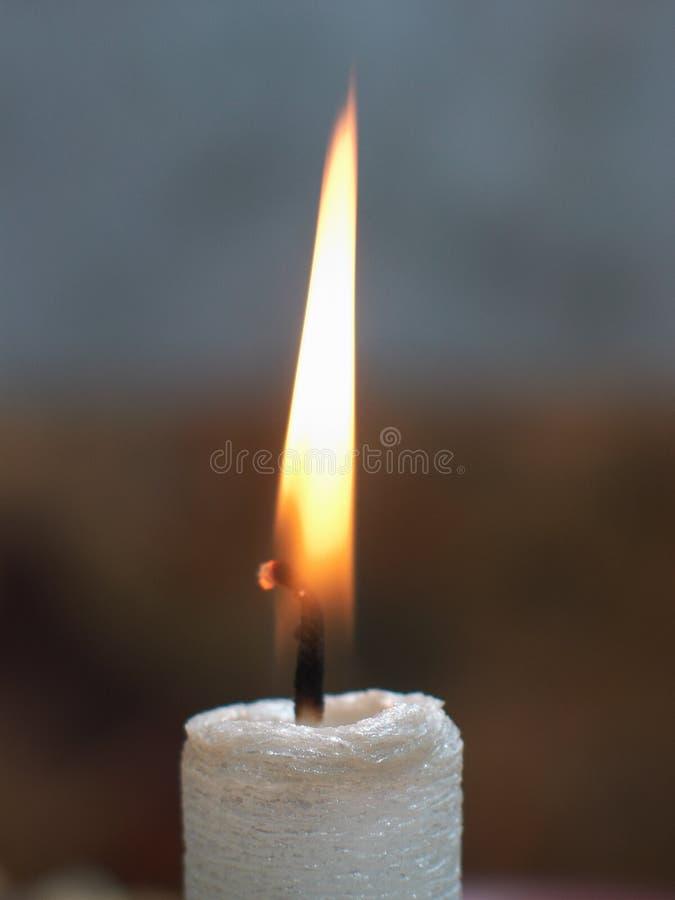 Luz de vela foto de stock