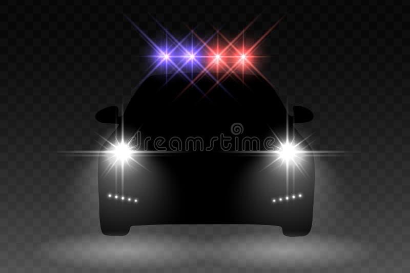 Luz del coche stock de ilustración