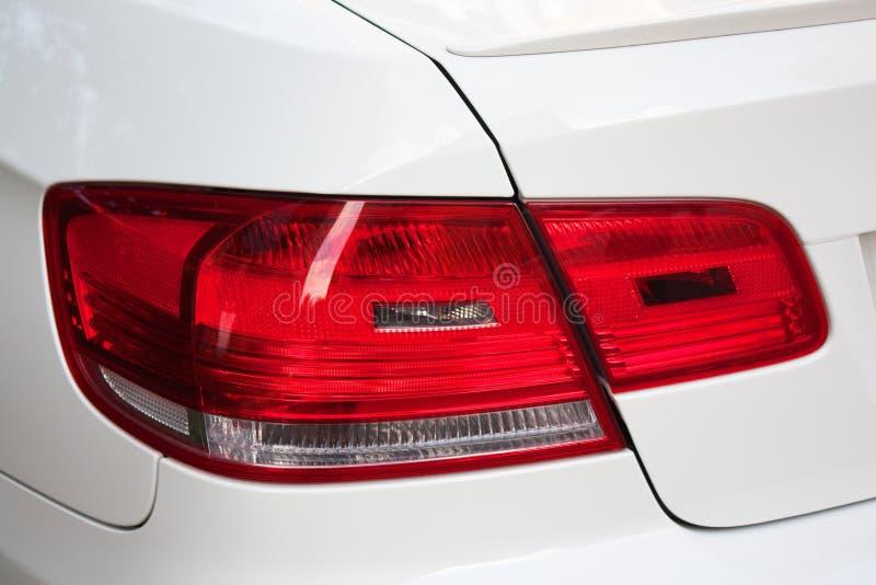 Luz del coche - parte posterior imágenes de archivo libres de regalías