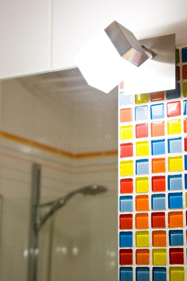Luz del cuarto de baño fotografía de archivo libre de regalías