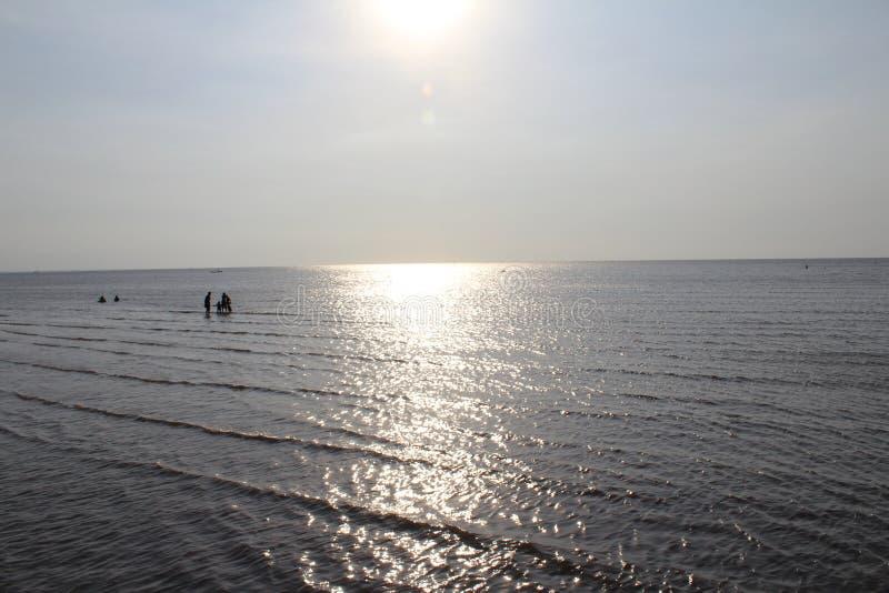 Luz del día en el mar fotografía de archivo libre de regalías