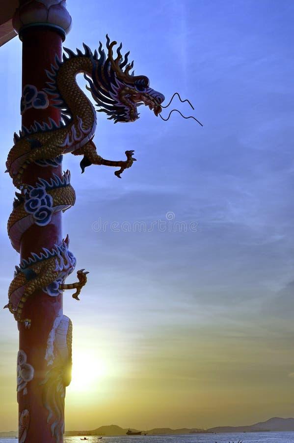 Luz del dragón fotografía de archivo libre de regalías