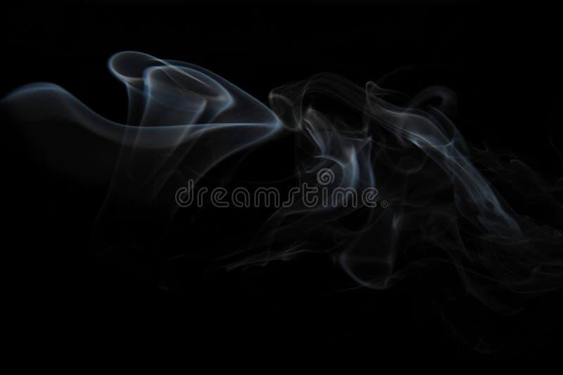 Luz del humo imagen de archivo libre de regalías