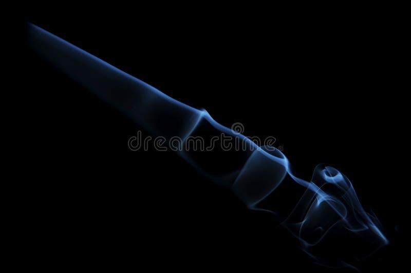Luz del humo foto de archivo