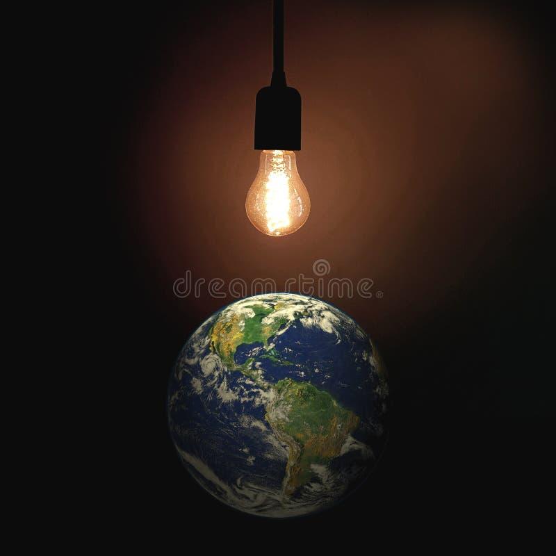 Luz del mundo foto de archivo libre de regalías