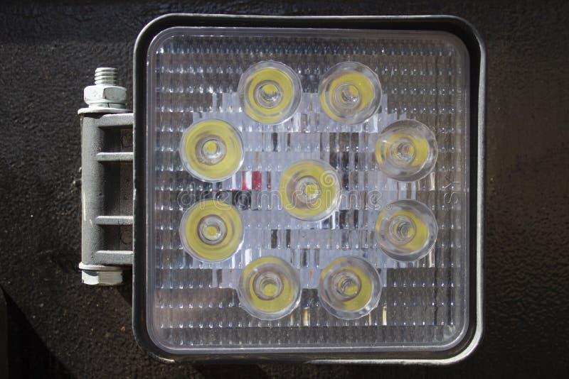 Luz del punto de la recogida del LED imagenes de archivo