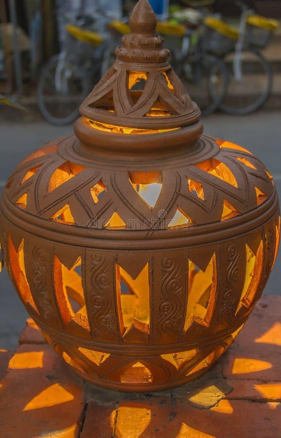 Luz del tarro foto de archivo libre de regalías