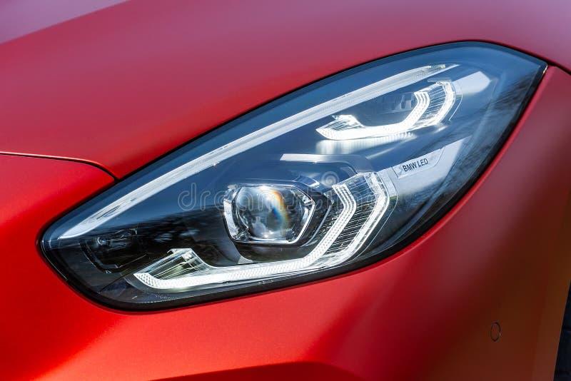 Luz dianteira de BMW Z4 fotos de stock royalty free