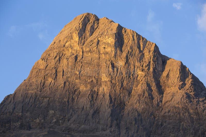 Luz do amanhecer em Ha Ling Peak imagens de stock