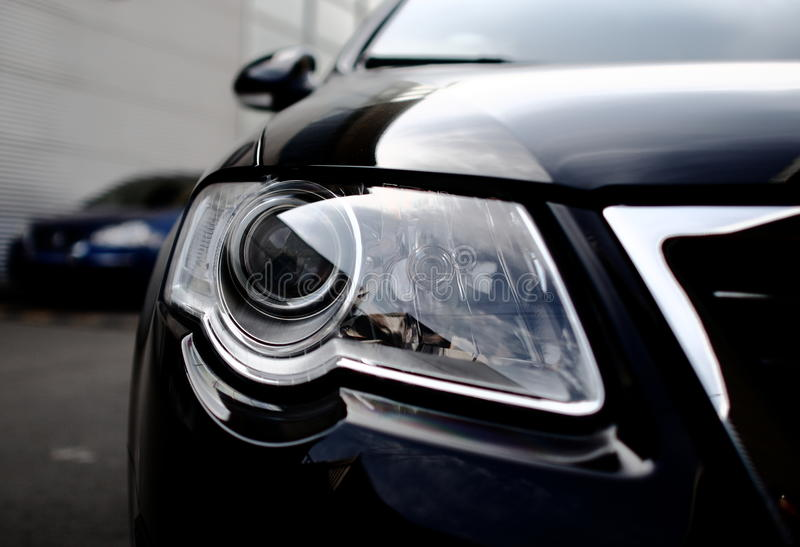 Luz do carro fotos de stock royalty free