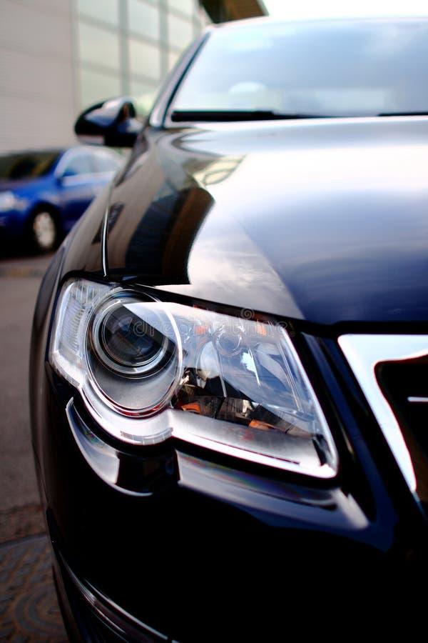 Luz do carro foto de stock