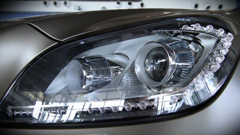 Luz do carro do diodo emissor de luz fotos de stock