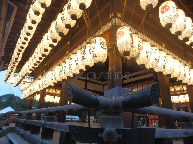 Luz do ` das lanternas do santuário foto de stock royalty free