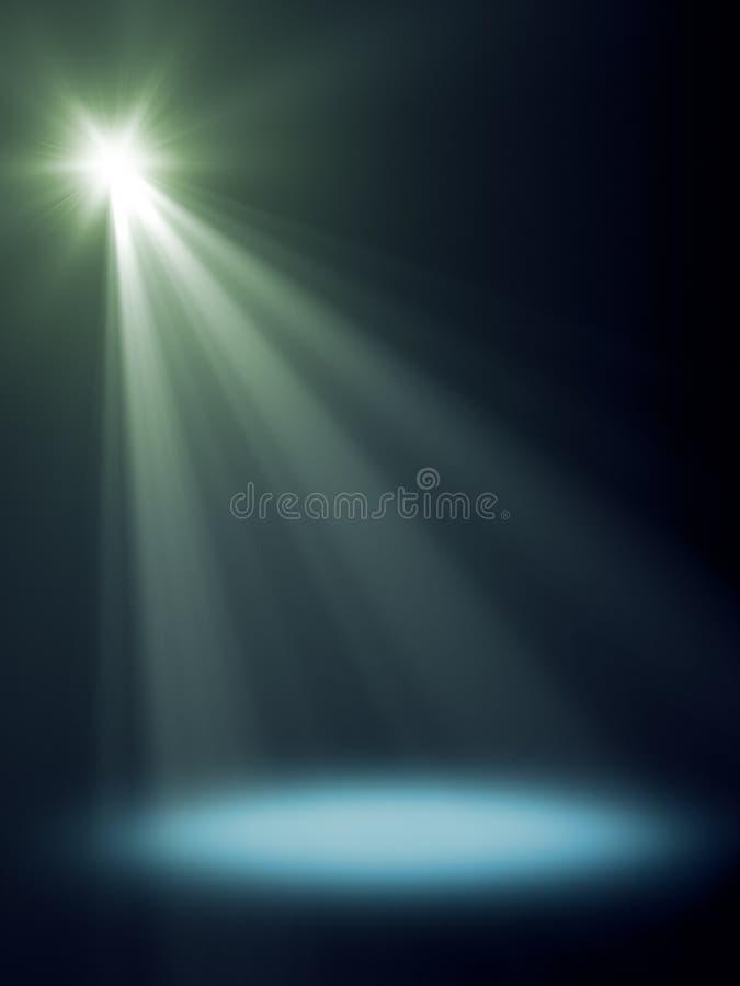 Luz do estágio ilustração royalty free