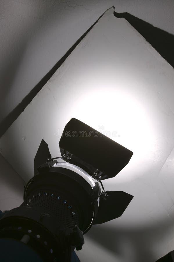 Luz do estúdio fotografia de stock