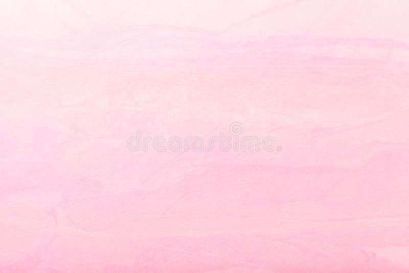 Luz do fundo da arte abstrato cor cor-de-rosa Pintura multicolorido na lona fotos de stock royalty free