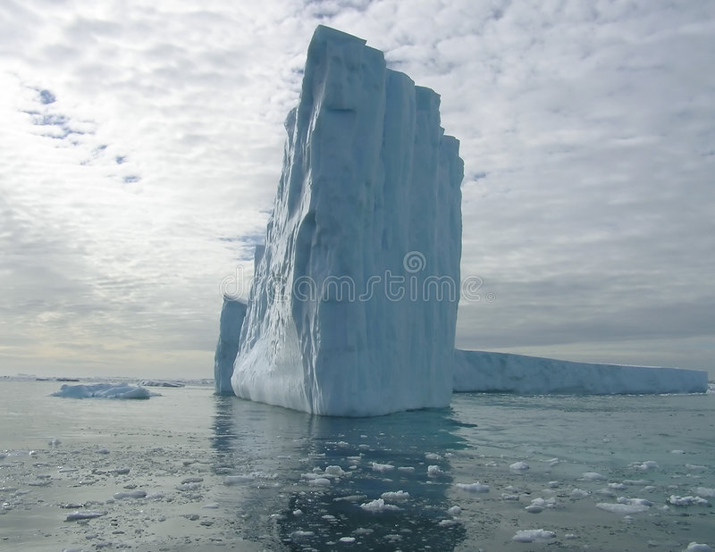 Luz do iceberg imagem de stock