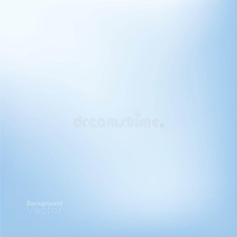 Luz do inclinação - fundo abstrato médico azul ilustração do vetor