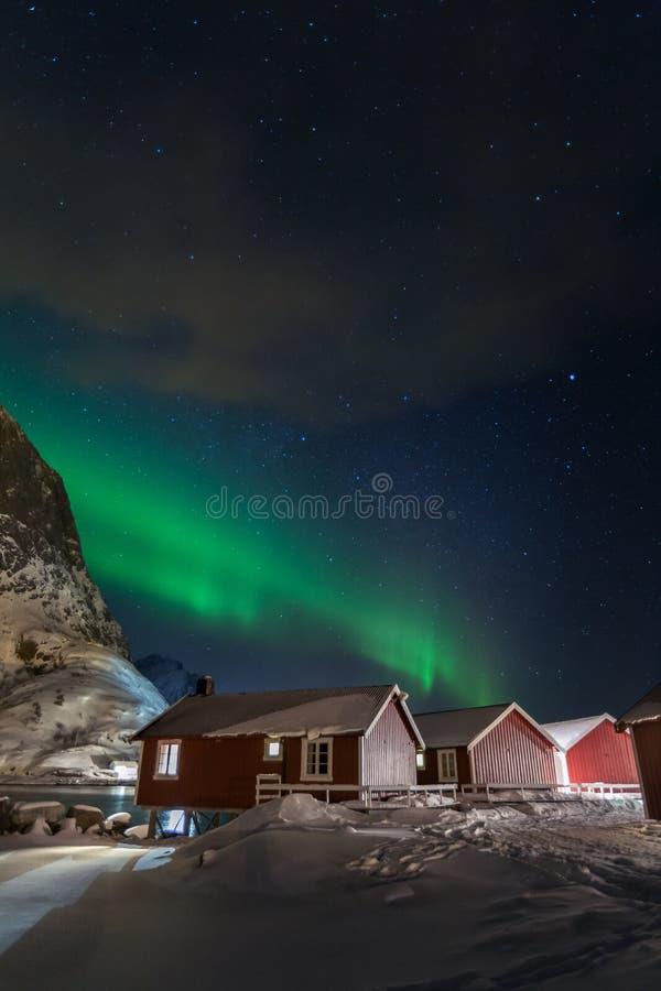 Luz do norte fotos de stock