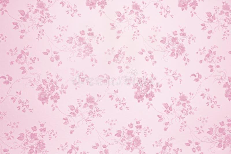 Luz do papel de parede floral - rosa fotos de stock