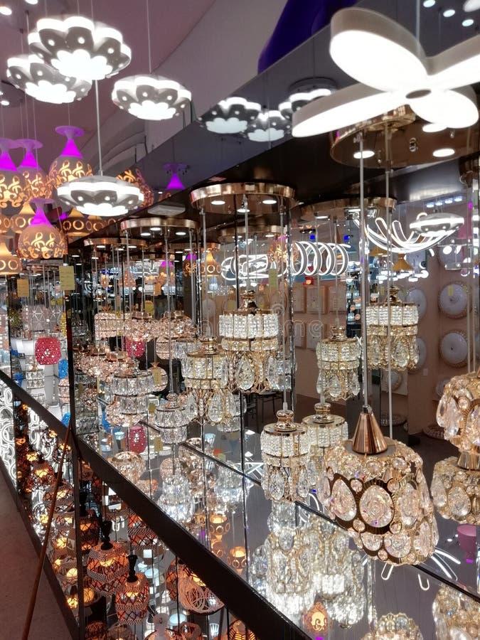 Luz do pendente para restaruant, a sala de visitas e lugares comerciais imagem de stock royalty free