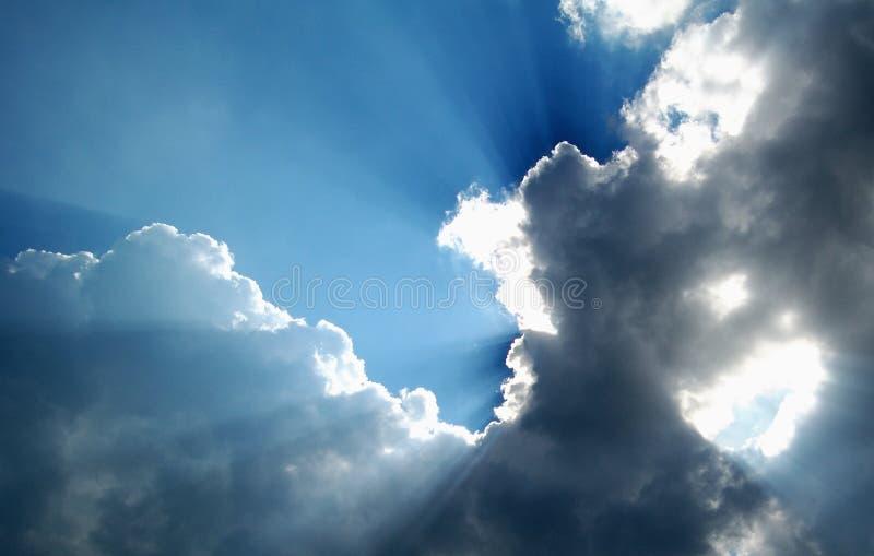 Luz do sol fotografia de stock