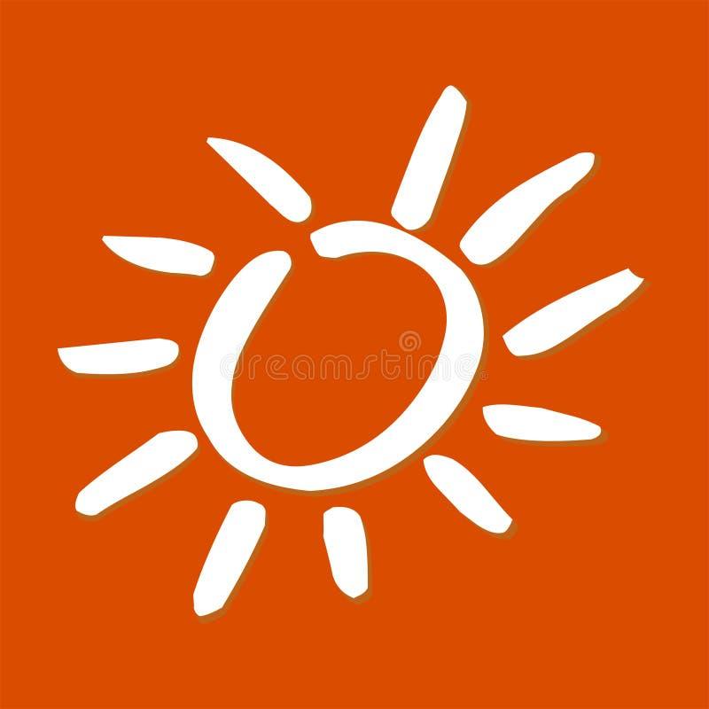 Luz do sol ilustração do vetor