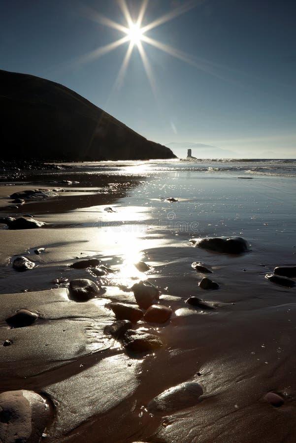 Luz do sol do inverno fotos de stock royalty free