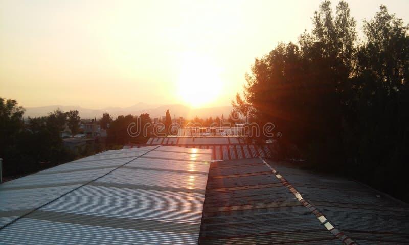 Luz do sol em México imagens de stock royalty free