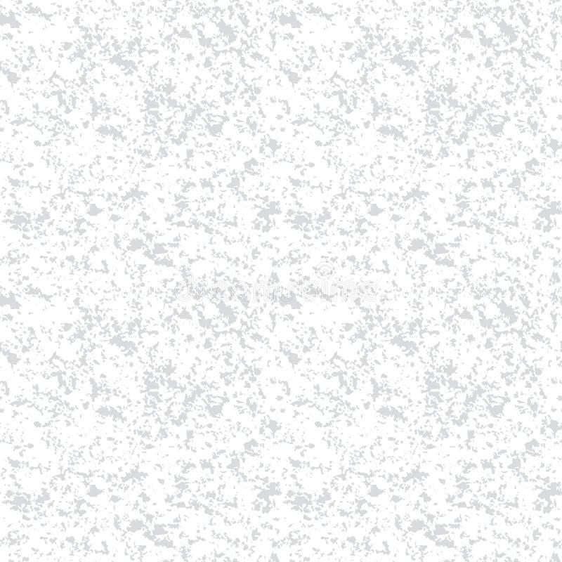 Luz do vetor - fundo sem emenda de pedra de mármore cinzento da textura do teste padrão da repetição ilustração stock