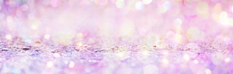 Luz e brilho brilhantes abstratos bonitos ilustração do vetor