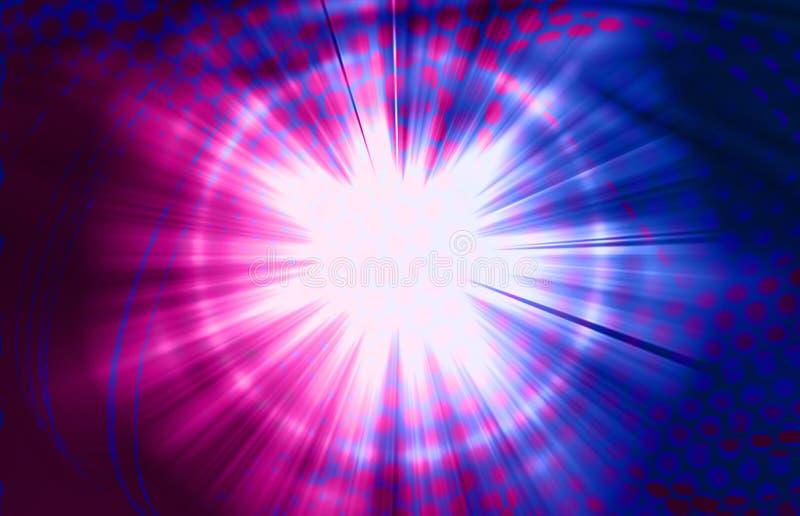 Luz e tecnologia ilustração royalty free