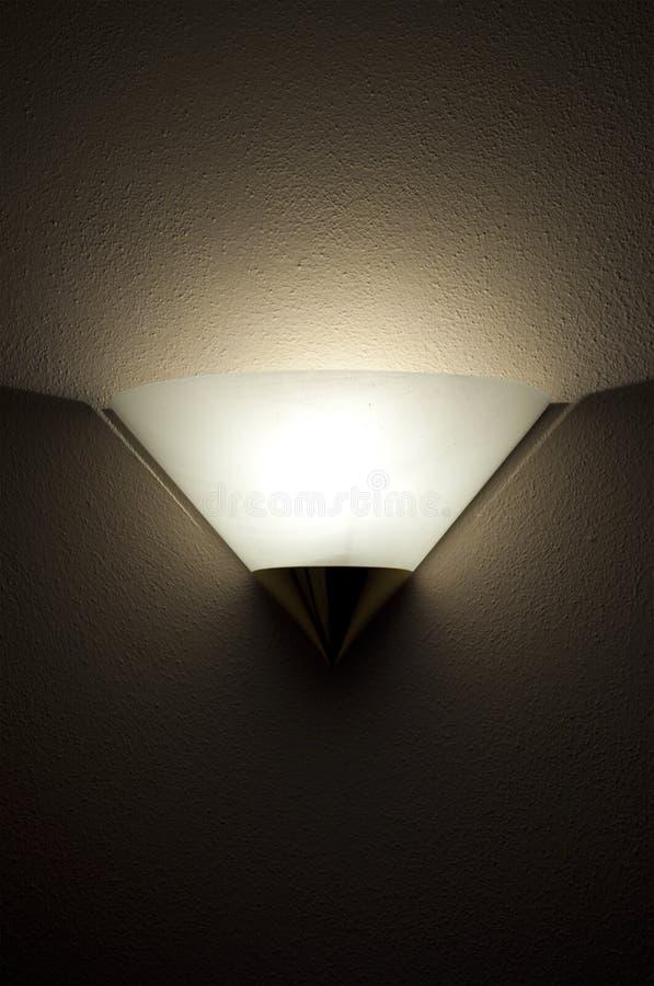 Luz fixada na parede imagem de stock