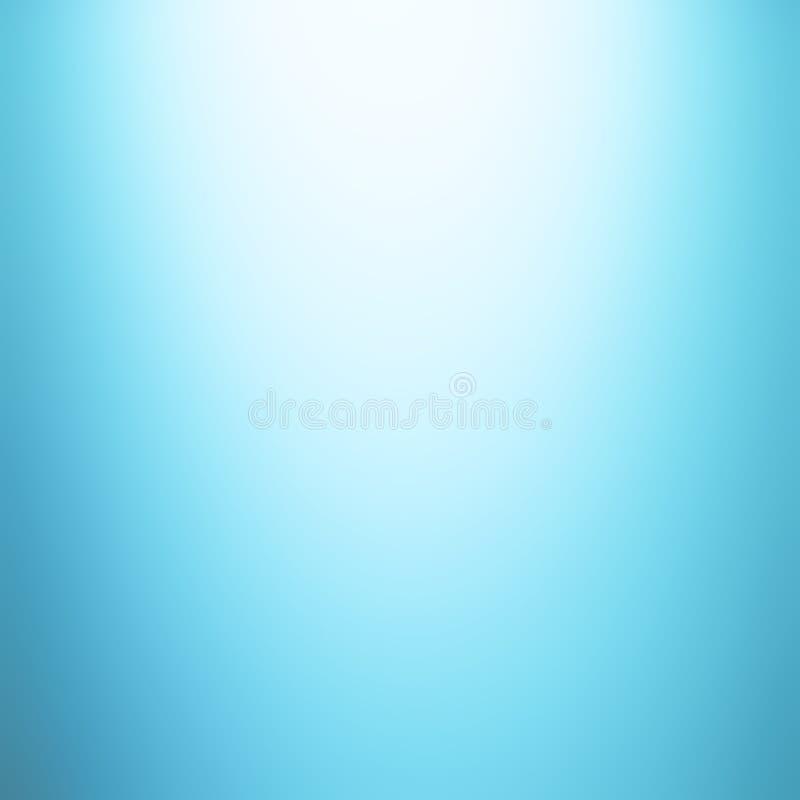 Luz - fundo azul do inclinação ilustração stock