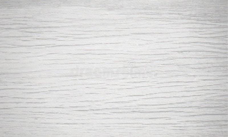 Luz - fundo de madeira cinzento da textura Molde horizontal da amostra de folha natural do teste padrão Ilustração do vetor ilustração stock