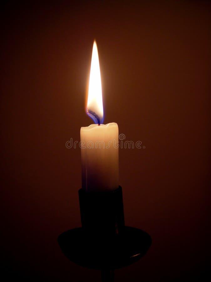 Luz? II de la vela imagen de archivo