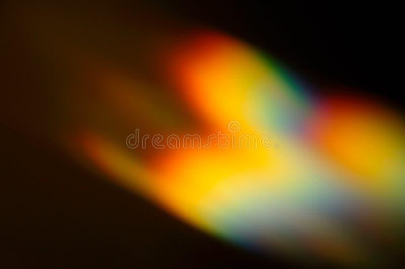 Luz iridiscente en una pared fotografía de archivo libre de regalías