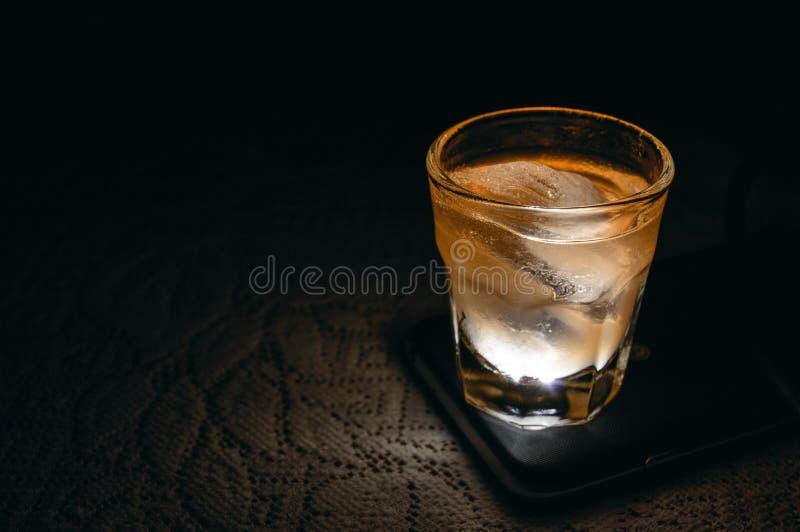Luz líquida fotografia de stock