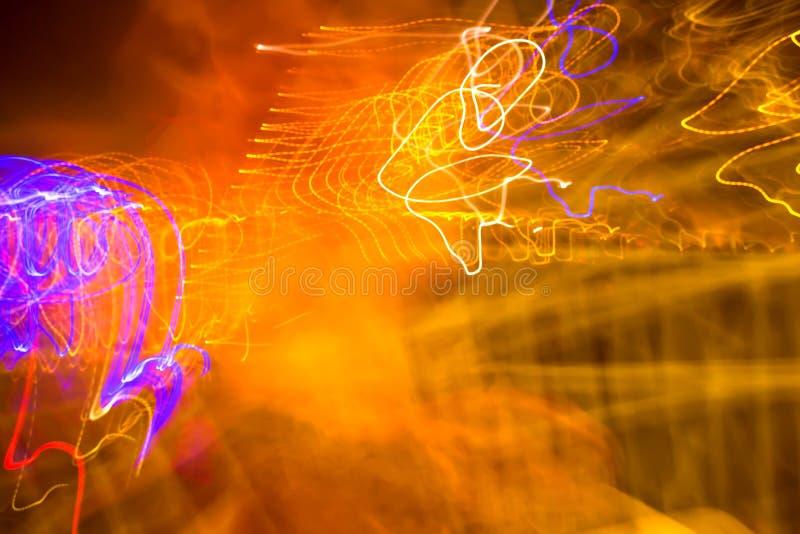 Luz manchada ilustración del vector