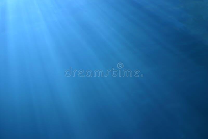 Luz na água fotos de stock