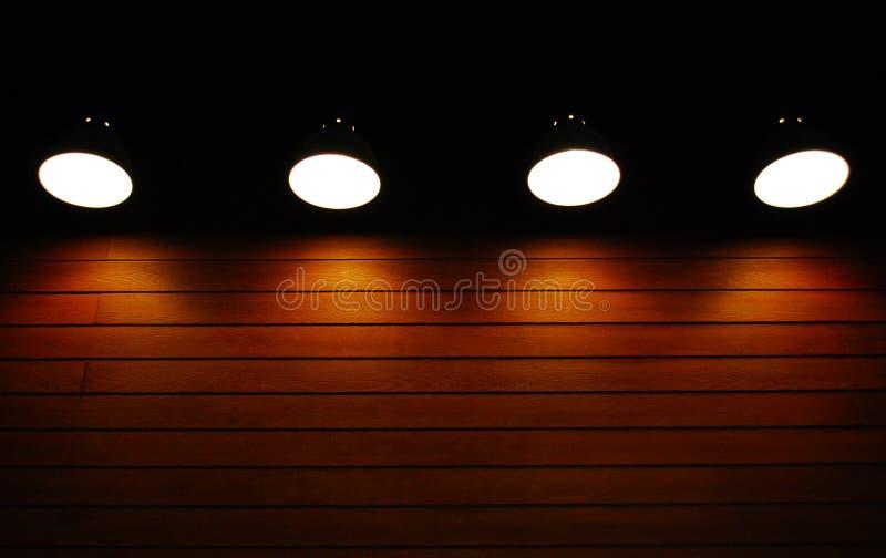 Luz na escuridão foto de stock