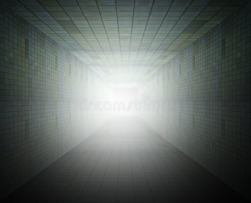 Túnel ilustração do vetor