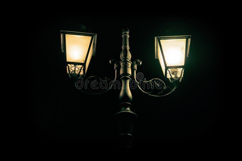 Luz na noite fotografia de stock royalty free