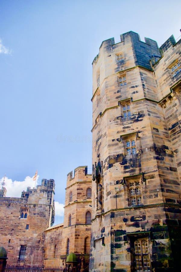 Luz no castelo imagem de stock