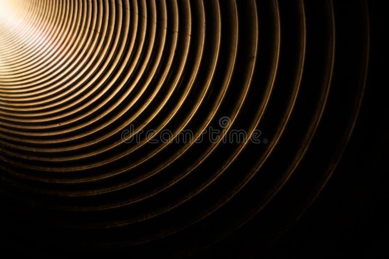 Luz no túnel imagem de stock royalty free