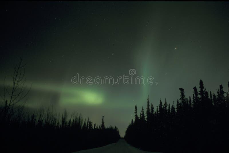 Luz norteña fotografía de archivo libre de regalías